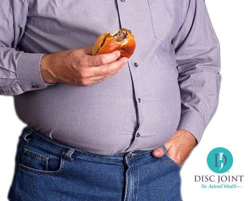 الوزن و العمود الفقري