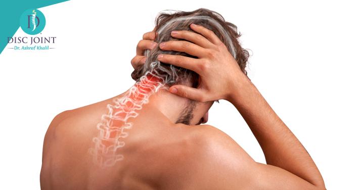 علاج الانزلاق الغضروفي العنقي بدون جراحة